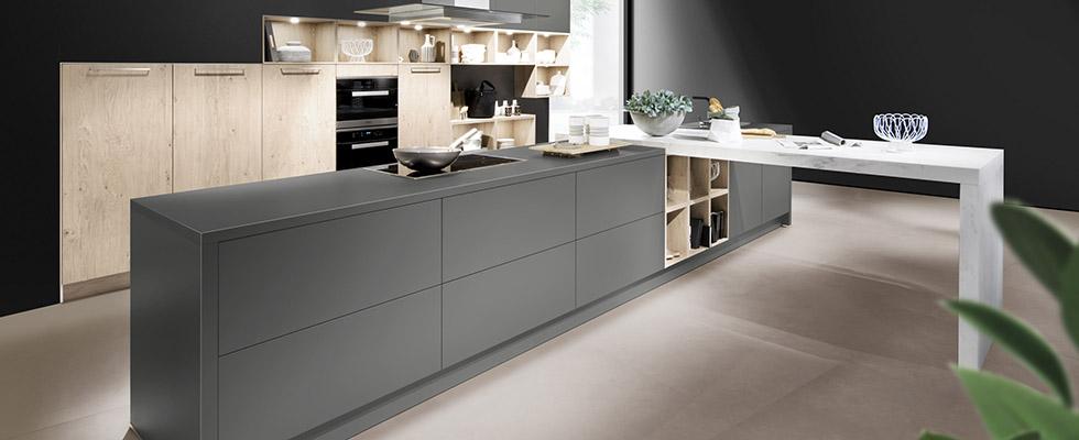 Häcker Küche AV2065 Lavagrau