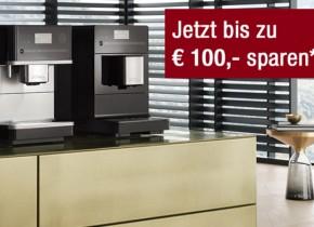 Bis zu €100,- Weihnachtsbonus auf Ihren Miele Stand-Kaffeevollautomaten