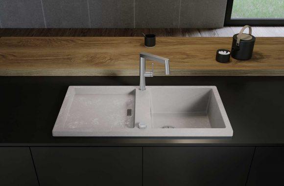 Blanco Silgranit-Spülen im Beton-Style