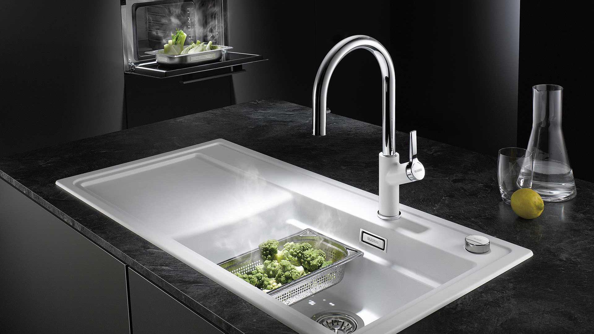 Spülen für Ihre Küche in Wien bei Miele Center Bauer