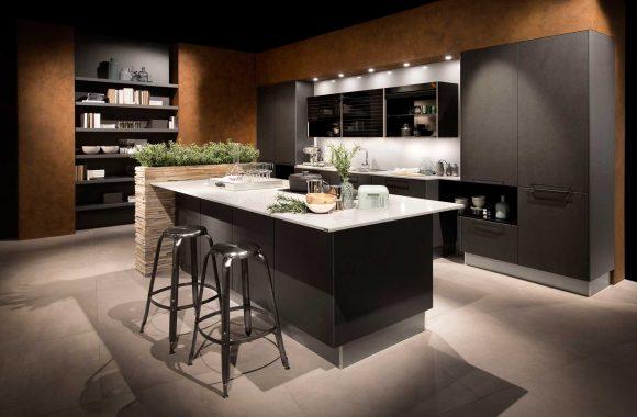 Küchenmodelle Küche Echtbeton