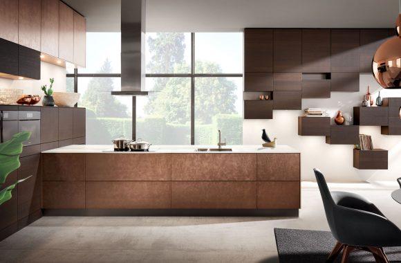 Küchenmodelle Elegante Küche Bronze