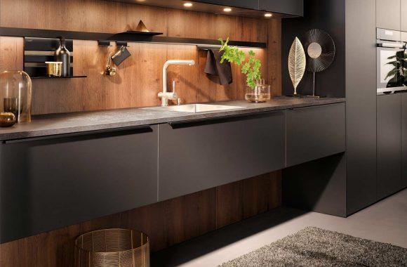 Küchentrends 2020 Häcker Mattlack im Miele Center Bauer
