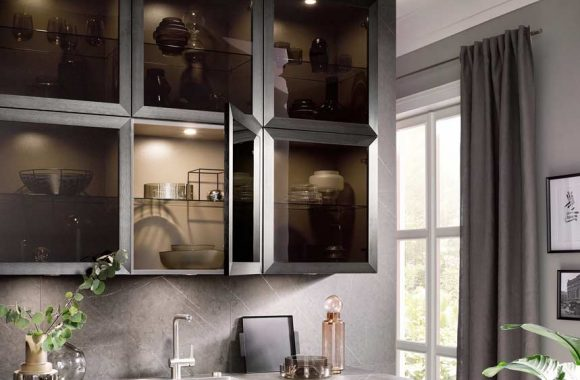 Küchentrends 2020 Häcker Metallic Optik und Haptik im Miele Center Bauer
