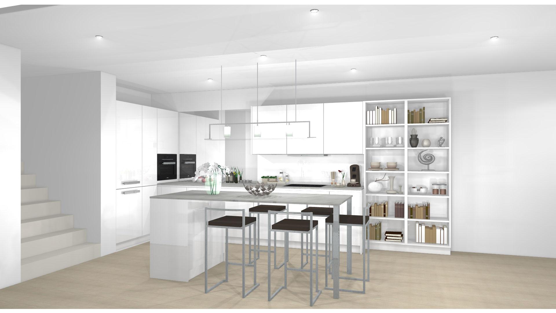 3D-Küchenplanung bei Küchenwelt Bauer in Wien