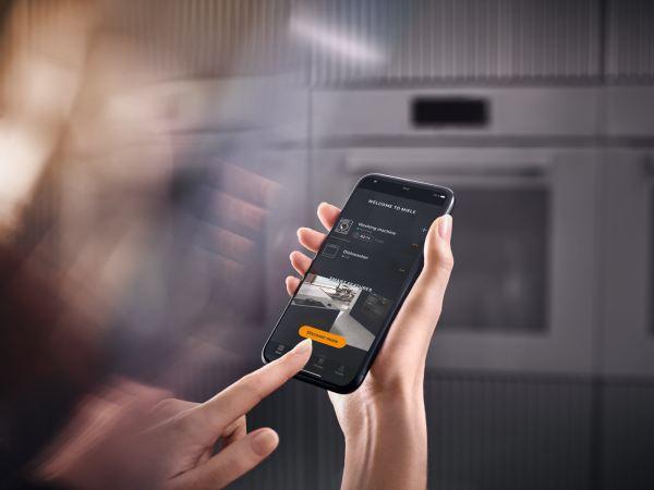 Die Miele Smart Home App