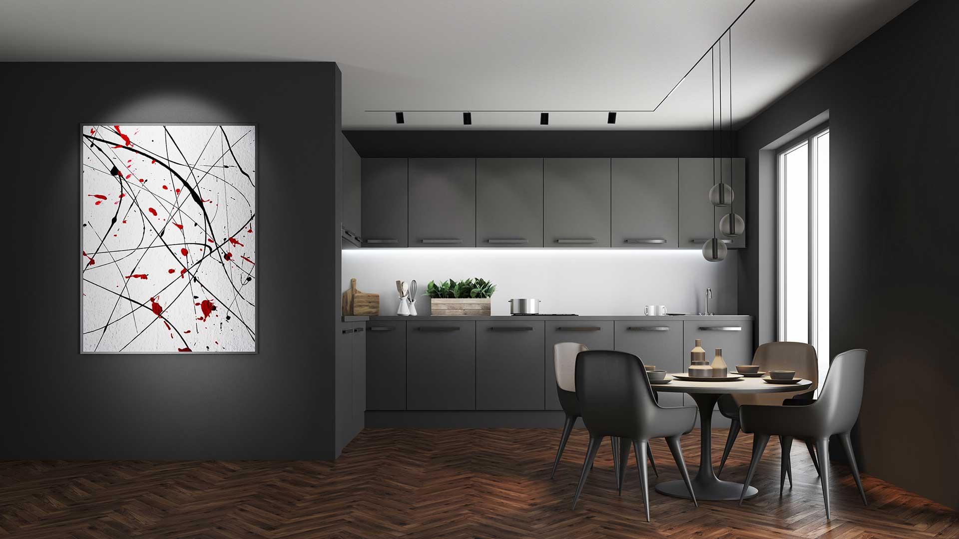 Beleuchtung für die Traumküche bei Küchenwelt Bauer in Wien