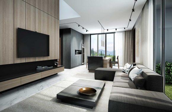 Beleuchtung für offene Wohnküche Volare Trimless R Molto Luce